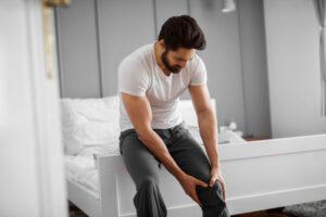 ból kolana stawy - kwas
